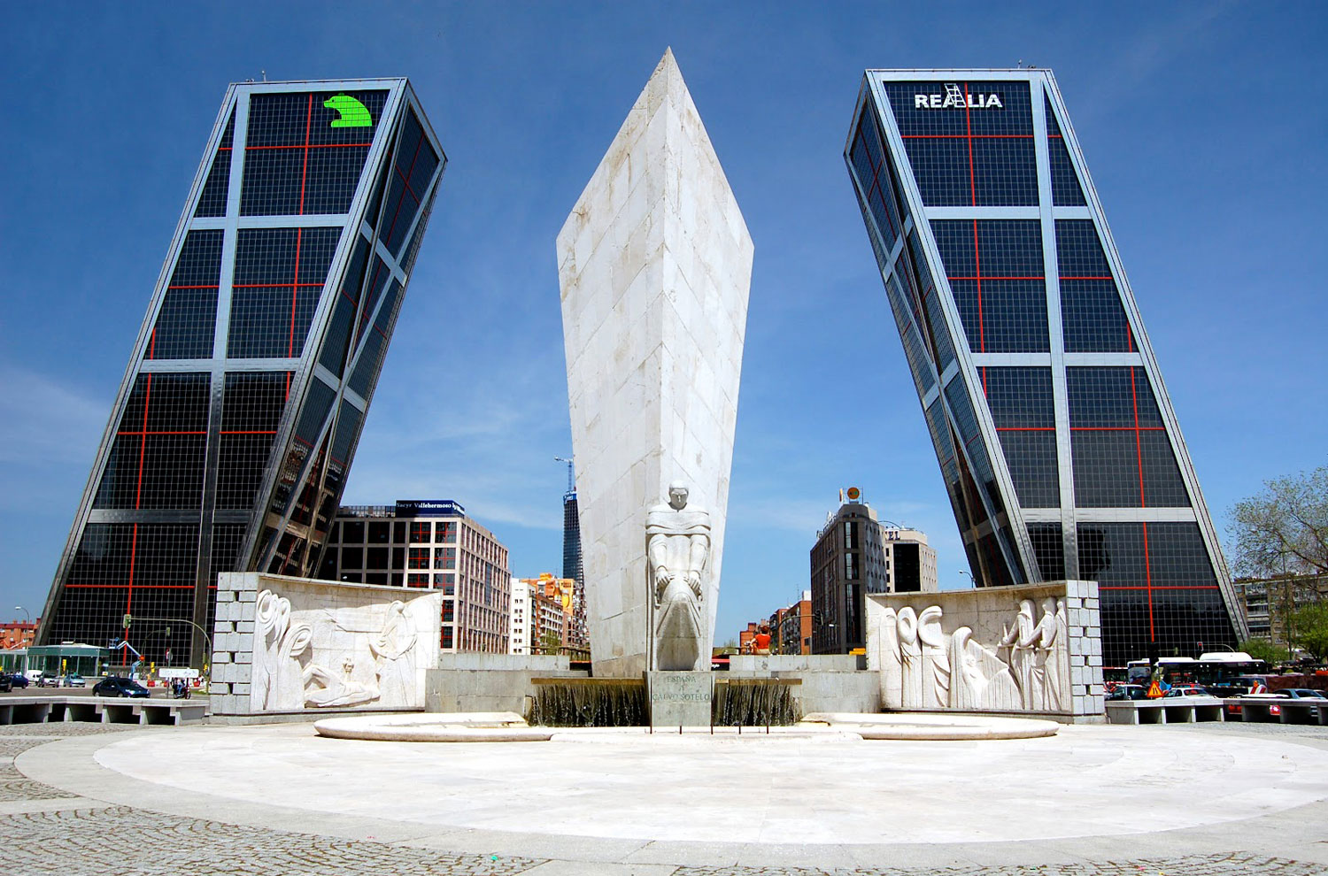 KIO Towers at Puerta Europa