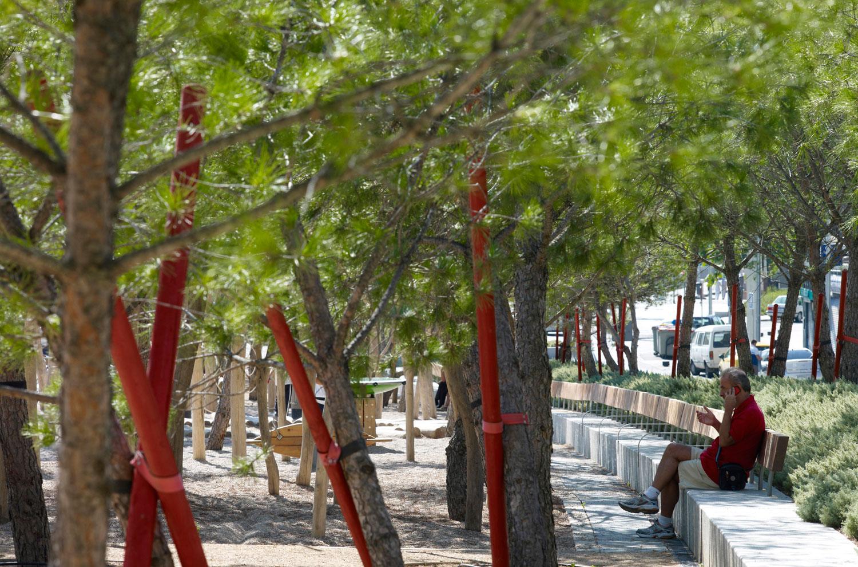Madrid Río linear park