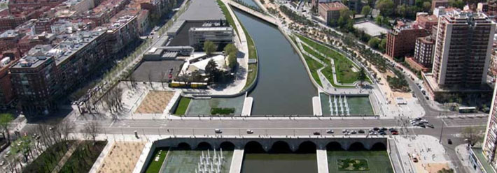 Madrid Río wins the Green Good Design Awards 2013.