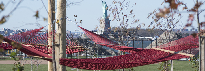 West8 complete first phase of park on Governors Island. Photo: Timothy Schenck Photography, courtesy of The Trust for Governors Island.