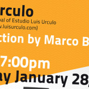 Luis Úrculo to lecture at Kent State University, Florence Program.,