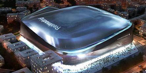 German studio GMP Architekten to redevelop Real Madrid's Bernabeu Stadium.